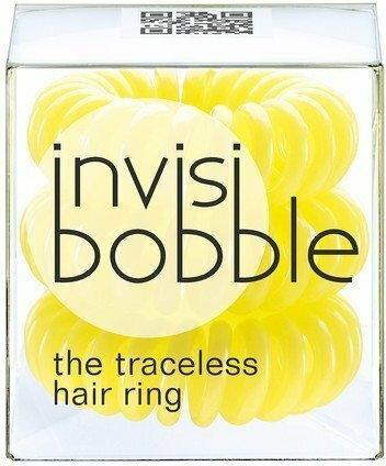 InvisiBobble Traceless Hair Ring Submarine Yellow gumki do włosów żółta 3szt.