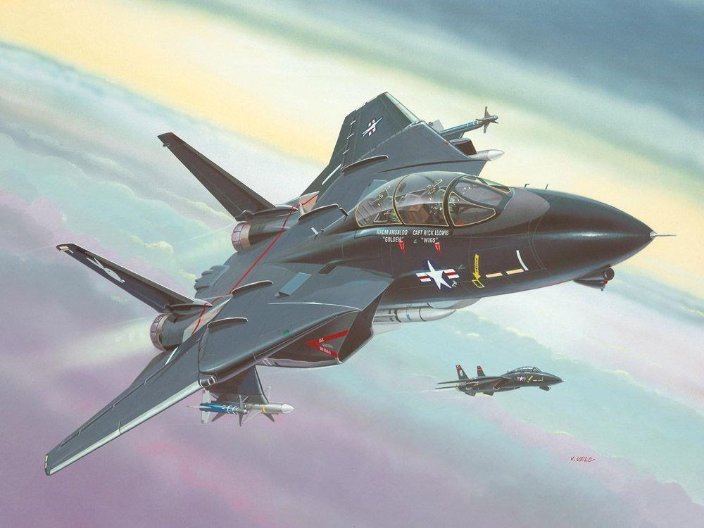 Revell Model-Set - F-14A Black Tomcat 64029