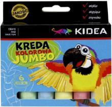 JUMBO Kreda Kidart lolorowa 6szt x1