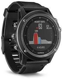 Garmin Fnix 3Hr Multi Zegarek SportowyPomiar Tętna Na Nadgarstku, Dostępnych Jest Wiele Sport I Funkcje Nawigacji Gps Saphir