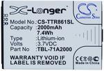 TP-Link M5350 / TBL-71A2000 2000mAh 7.4Wh Li-Ion 3.7V (Cameron Sino) CS-TTR861SL