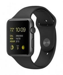 Apple Watch 2 42 mm Pasek sportowy / Czarny