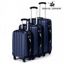 David Jones Zestaw walizek podróżnych 3w1 granatowe
