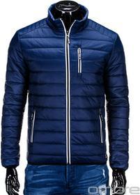 Ombre Clothing KURTKA C211 - GRANATOWA