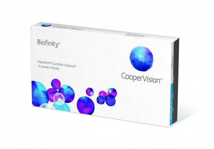 CooperVision Biofinity 6 szt.
