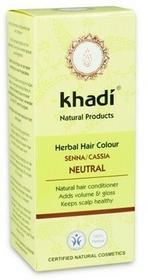 Khadi Henna do włosów bezbarwna Cassia 100g