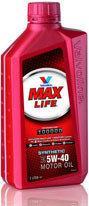 Valvoline MaxLife Synthetic 5W-40 1L
