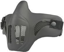 ULTIMATE Maska ochronna Tactical Scout V1 - Czarna (MAS-67-BLK) G