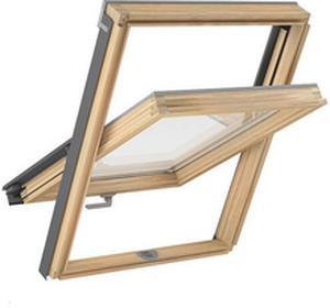 Magnetic Okno dachowe drewniane BASIC 66x118 RLOKMABADPXF6A