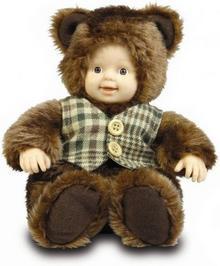 Unimax Toys ANNE GEDDES Lalka Miś w kamizelce 542941