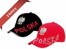 2 kolory Czapka z daszkiem Orzeł, Polska