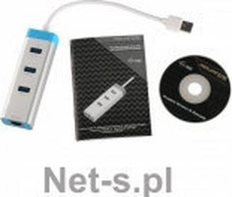 i-Tec USB 3.0 Metal HUB 3 Port with Gigabit Ethernet Adapter