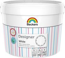 Beckers Farba lateksowa Designer White 10L 5902829029208