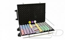 1000 zestaw pokerowy do pokera żetony wózek walizka FP32523