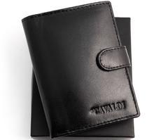 Cavaldi portfel męski skóra 0001 L BS C Elegancki męski portfel ze skóry. Poł