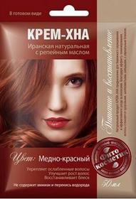 Fitokosmetik Naturalna Irańska Krem Henna Miedziano Czerwony 50 ml