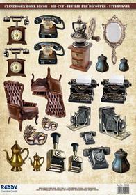 Papier do scrapbookingu Vintage A4 - 85004