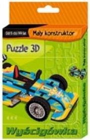 Puzzle 3D Wyścigówka