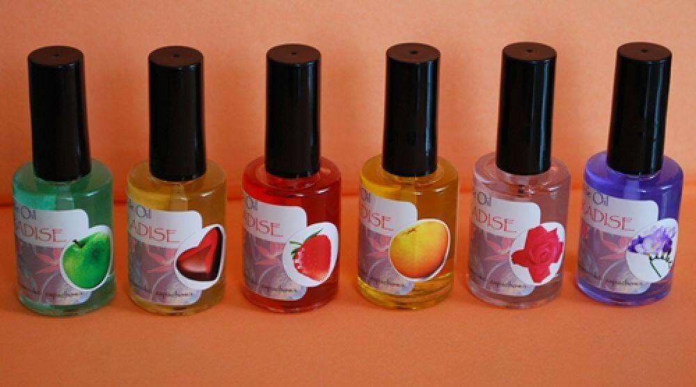 I-nails special PARADISE Oliwka zapachowa 15ml z pędzelkiem (6) frezja