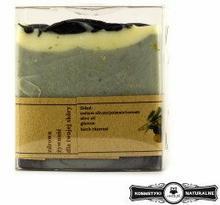 Mydło w kostce kastylijskie z węglem brzozowym - Czyste mydło