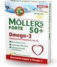 Axellus Mollers Tran Norweski Forte 50+ 60 szt.
