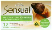 Joanna Sensual plastry twarzy z wyciągiem z aloesu 12 szt.