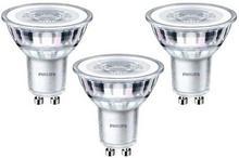 Philips Żarówki LED GU10 4 6 W 390 lm przezroczysta barwa zimna 3 szt.