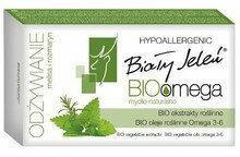 Pollena Biały Jeleń Hipoalergiczne mydło naturalne BioOmega z melisą i rozmarynem 85g