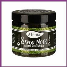 Alepia Mydło w kostce Czarne Savon Noir Supreme - 200g