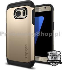 Spigen Etui Tough Armor do Samsung Galaxy S7 G930F Gold