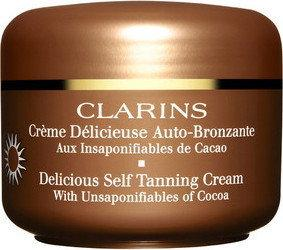 Clarins Delicious Self Tanning Cream krem samoopalający 125ml