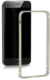 Samsung Ramka ochronna QOLTEC na Galaxy S6 | szara | alu. 51367