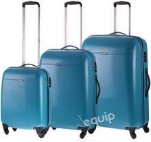 Puccini zestaw walizek PC 005 - turkusowy