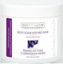 Bielenda Czerwone wino - peeling do ciała z pestkami winogron 600g