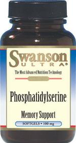 SWANSON Fosfatydylseryna 100mg 30 szt.