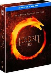 Hobbit Trylogia 3D Blu-Ray) Peter Jackson