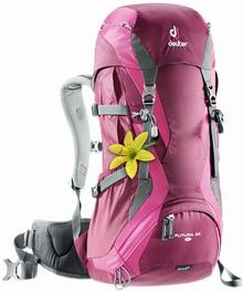 Deuter Plecak trekkingowy damski Futura 24 l SL - Blackberry/Magenta