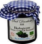 Sad Danków Ekologiczny dżem z czarnej porzeczki bez dodatku cukru 270g