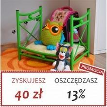 Grupa Lak System | Łóżka Metalowe Julka - Łóżeczko dla lalek maskotek pupili