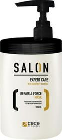 CeCe of Sweden Salon intensywna Maseczka regenerująca do włosów zniszczonych, suchych i łamliwych , 250ml