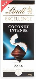 Lindt Excellence Coconut Intense 100g