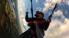 Lot na paralotni za wyciągarką + filmowanie Rybnik okolice
