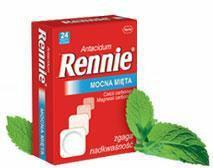Bayer Rennie mięta 48 szt.