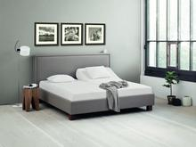 Elegance Elegance Kantata II - tapicerowane łóżko (eko-skóra) 180x200 cm