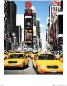 New York Taxis - Obraz, reprodukcja