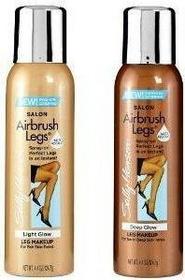 Sally Hansen Airbrush Legs Tan Glow - Samoopalacz do nóg spray 003 75ml