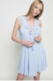Review Sukienka 00760704106 niebieski