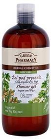 Green Pharmacy Body Care Argan Oil & Figs żel pod prysznic 0% Parabens, Silicone