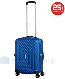 Samsonite AT by Mała kabinowa walizka AT AIR FORCE 1 74401 Niebieska - niebieski