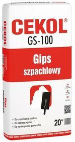 Cekol Gips szpachlowy GS-100 20 kg
